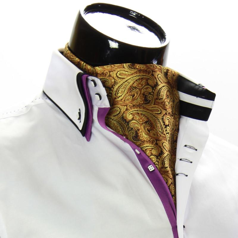 Мужской шейный платок аскот CH 9050-8