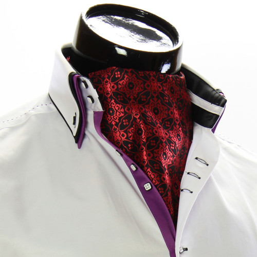 Чоловіча краватка Аскот на шию CH 9050-9