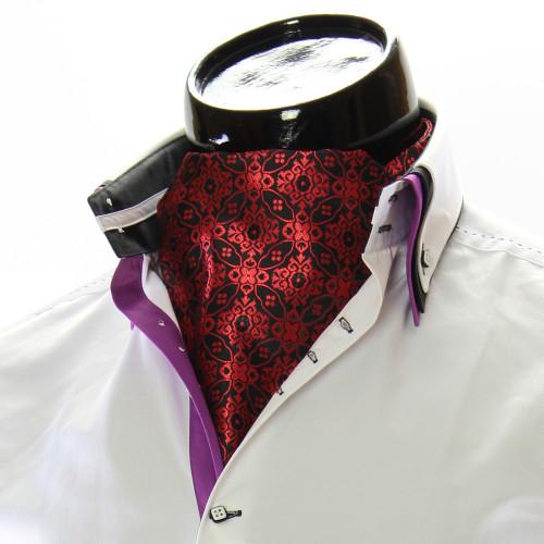 Men`s Floral Paisley Ascot Cravat CH 9050-9