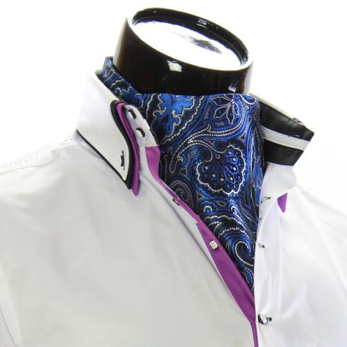 Men`s Floral Paisley Ascot Cravat CH 9050-10