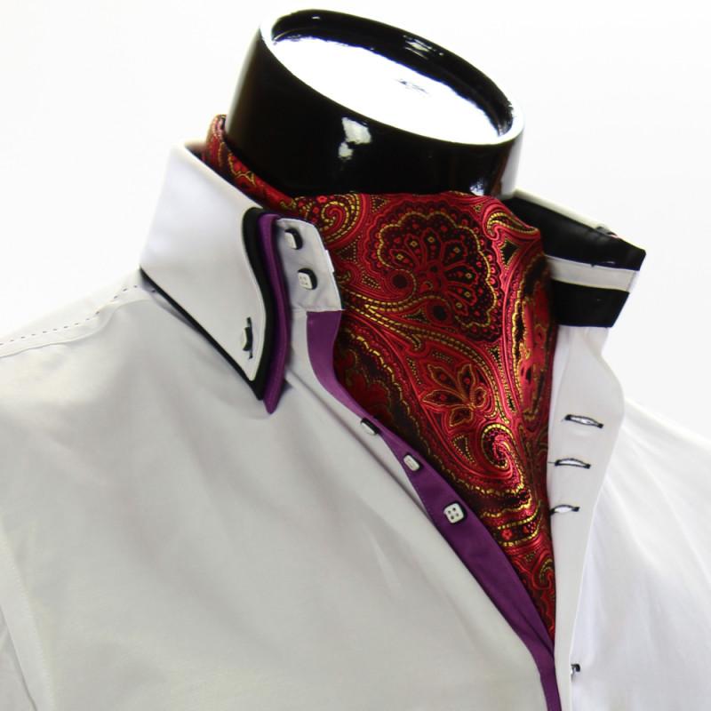 Мужской шейный платок аскот CH 9050-11