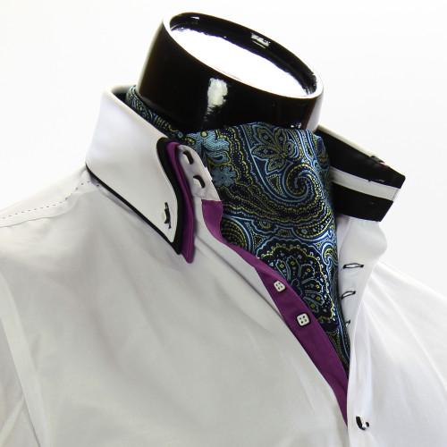 Мужской шейный платок аскот CH 9050-12