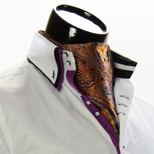 Мужской шейный платок аскот CH 9050-13