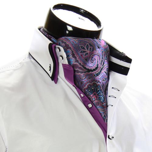 Мужской шейный платок аскот CH 9050-14