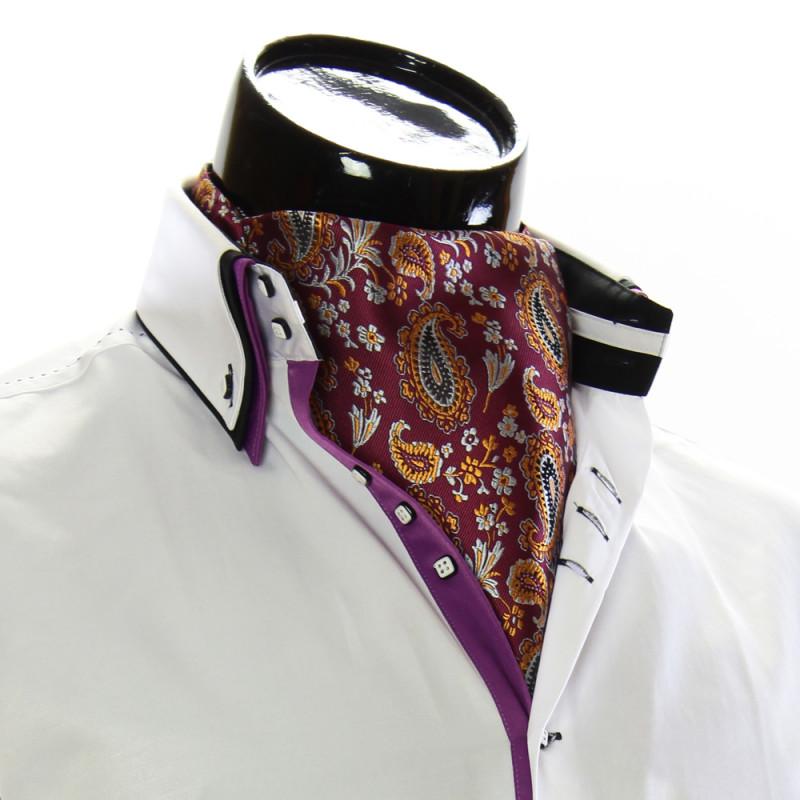 Мужской шейный платок аскот CH 9050-15