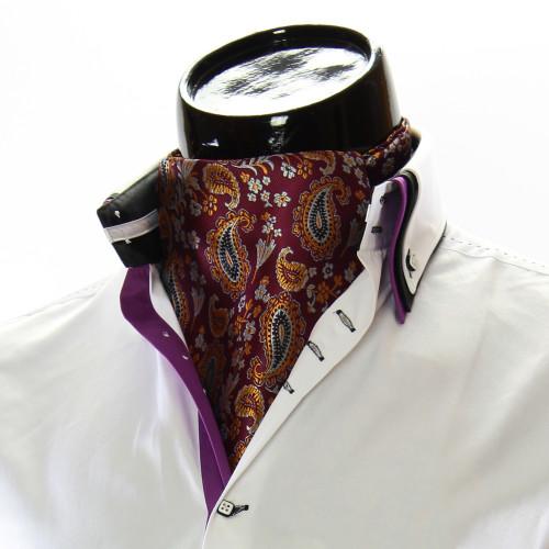 Чоловіча краватка Аскот на шию CH 9050-15