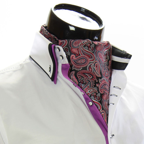 Чоловіча краватка Аскот на шию CH 9050-16