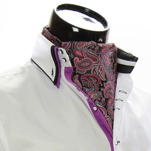 Men`s Floral Paisley Ascot Cravat CH 9050-16