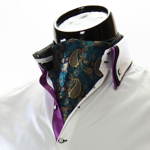 Чоловіча краватка Аскот на шию CH 9050-17