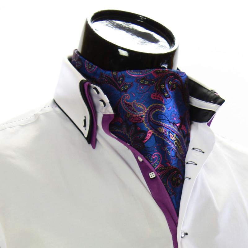 Мужской шейный платок аскот CH 9050-18