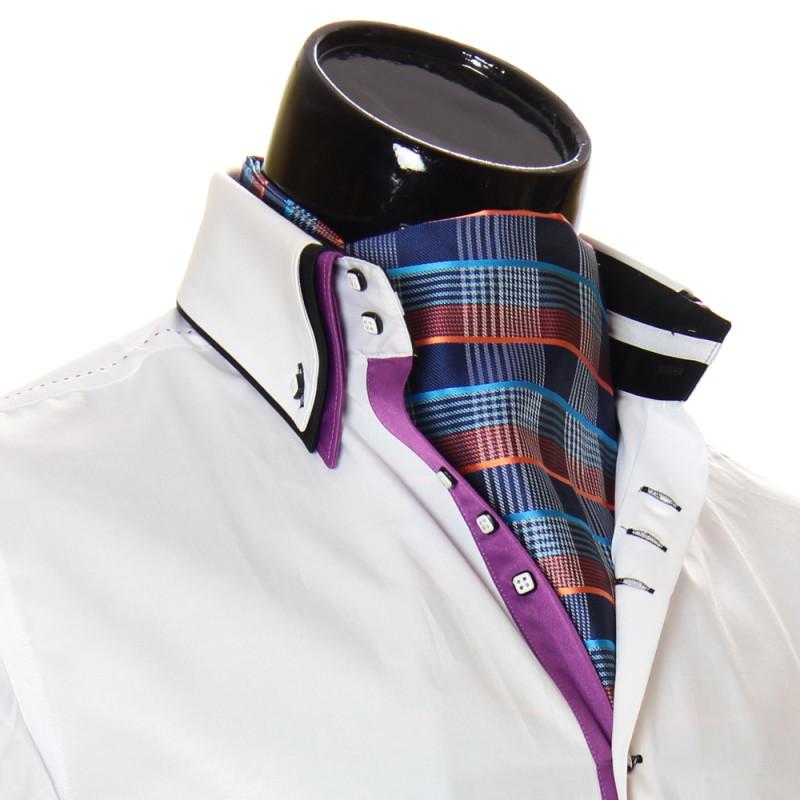 Мужской шейный платок аскот CH 9050-19