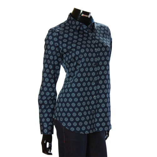 Women`s Cotton Pattern Shirt GR 1037-1