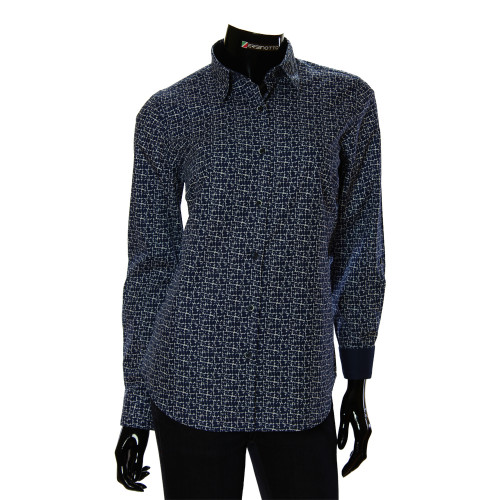 Women`s Cotton Pattern Shirt GR 1037-2