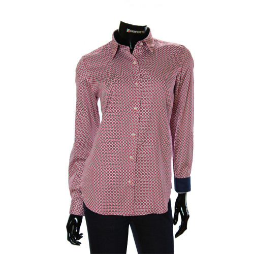 Women`s Cotton Pattern Shirt GR 1037-3
