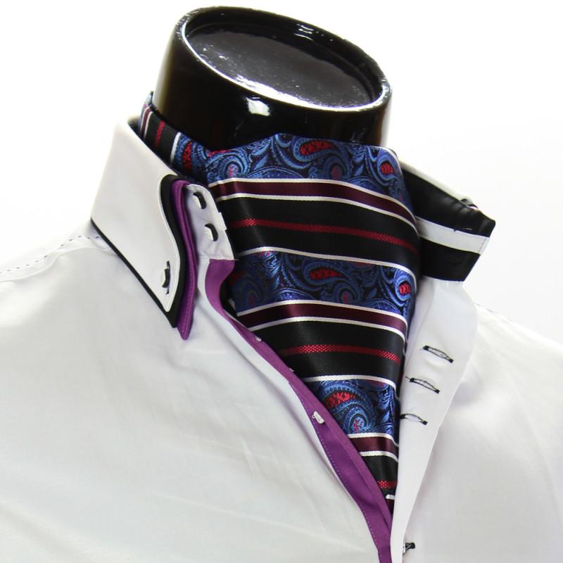 Men`s Floral Paisley Ascot Cravat CH 9050-22