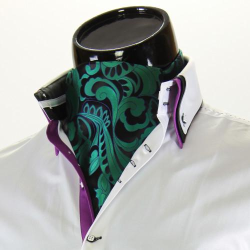Мужской шейный платок аскот CH 9070-1