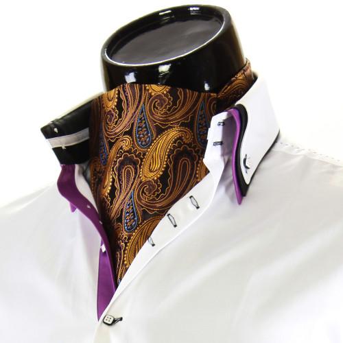 Мужской шейный платок аскот CH 9070-2