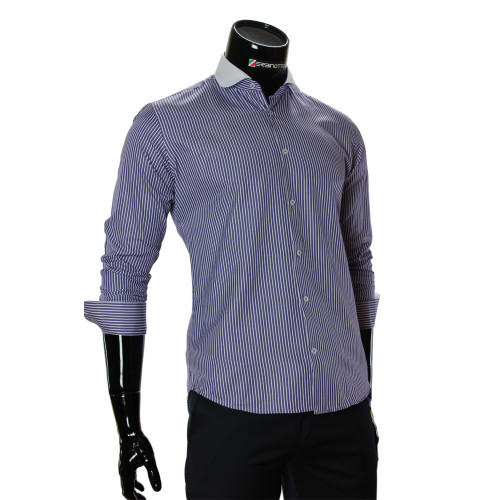 Men`s Slim Fit Oxford Striped shirt CAV 676-3