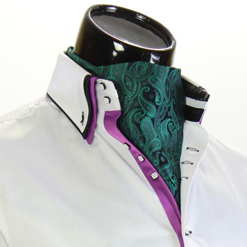 Мужской шейный платок аскот CH 9050-23
