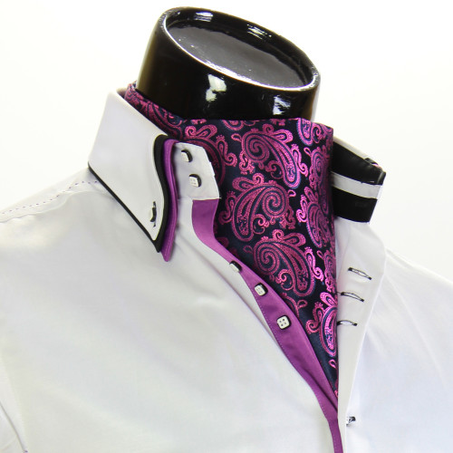 Мужской шейный платок аскот CH 9050-24
