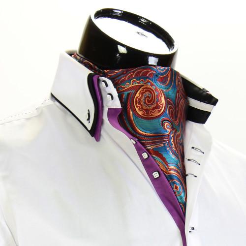 Мужской шейный платок аскот CH 9070-3