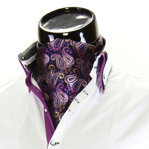 Мужской шейный платок аскот CH 9070-4