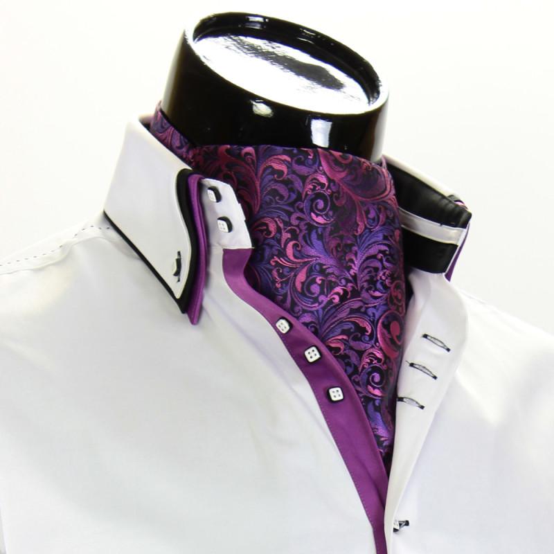 Мужской шейный платок аскот CH 9070-6