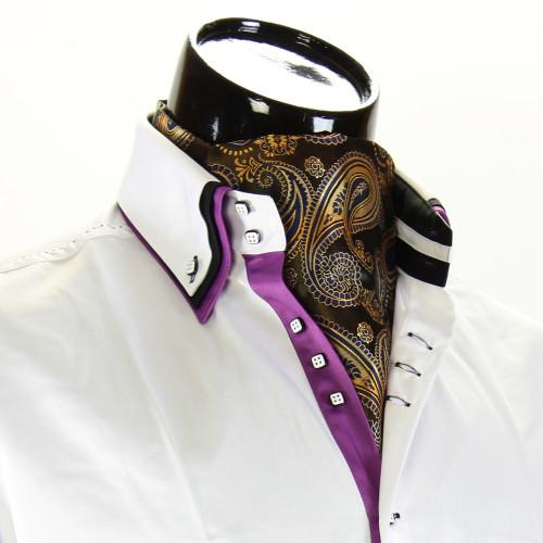Чоловіча краватка Аскот на шию CH 9070-7