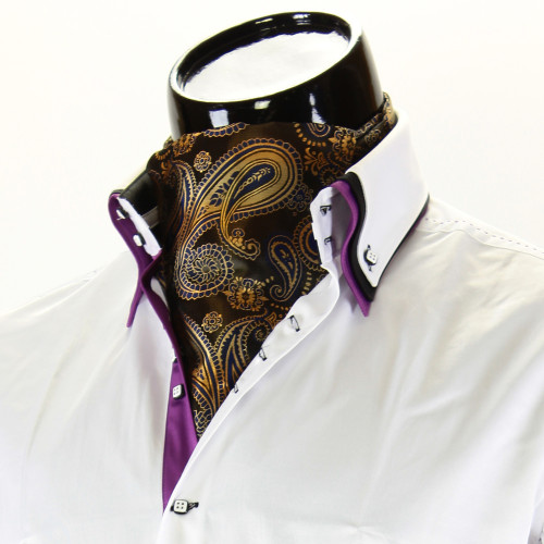 Мужской шейный платок аскот CH 9070-7