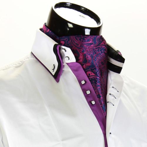 Men`s Floral Paisley Ascot Cravat CH 9070-8