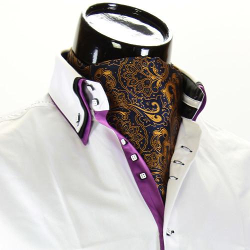 Мужской шейный платок аскот CH 9070-9