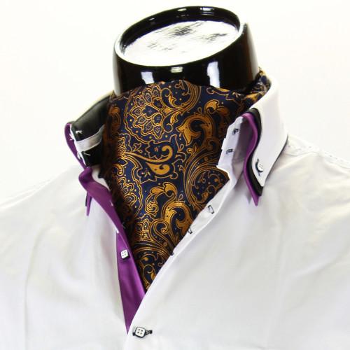 Чоловіча краватка Аскот на шию CH 9070-9
