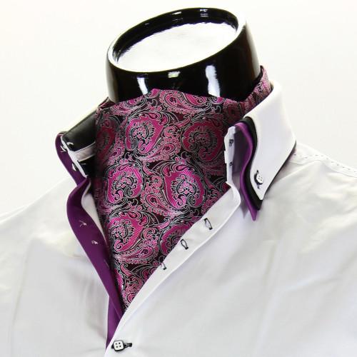 Мужской шейный платок аскот CH 9070-10