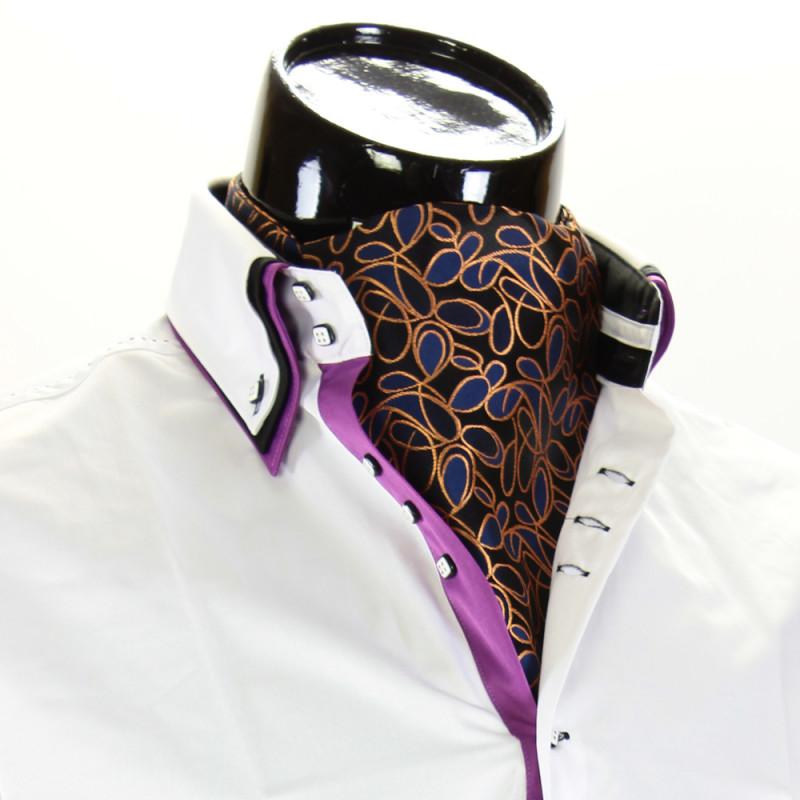 Чоловіча краватка Аскот на шию CH 9070-11