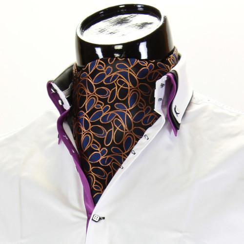Men`s Floral Paisley Ascot Cravat CH 9070-11