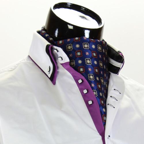 Men`s Floral Paisley Ascot Cravat CH 9070-12