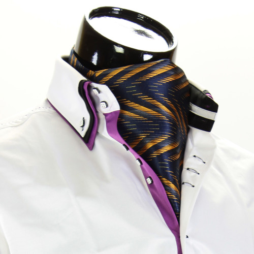 Мужской шейный платок аскот CH 9070-14