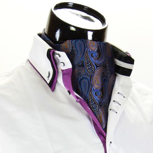 Мужской шейный платок аскот CH 9070-16
