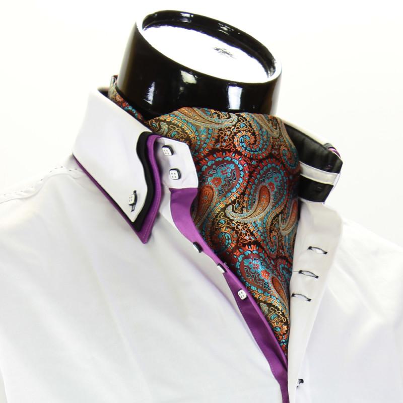 Чоловіча краватка Аскот на шию CH 9070-17