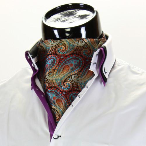 Мужской шейный платок аскот CH 9070-17