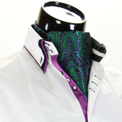Чоловіча краватка Аскот на шию CH 9070-18