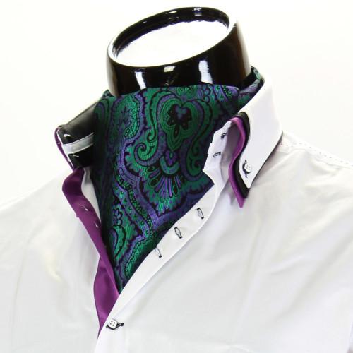 Мужской шейный платок аскот CH 9070-18