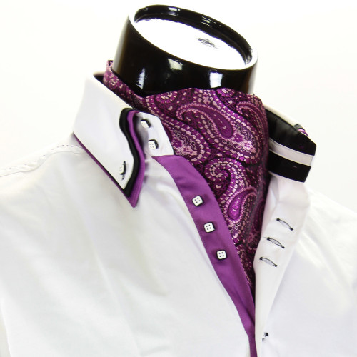 Чоловіча краватка Аскот на шию CH 9070-19