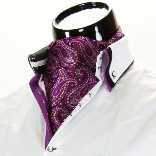 Мужской шейный платок аскот CH 9070-19