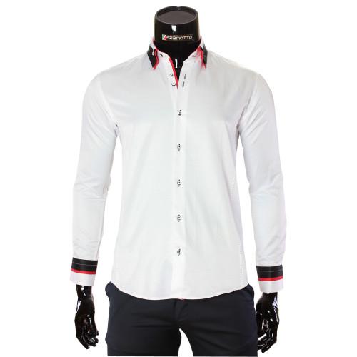 Satin Cotton Plain Shirt MM 1960-8