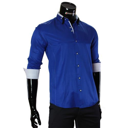 Satin Cotton Plain Shirt MM 1960-9