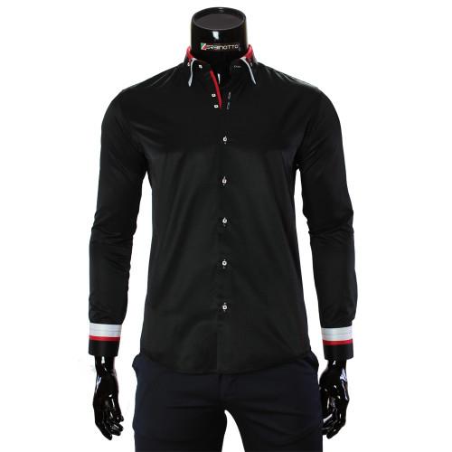 Satin Cotton Plain Shirt MM 1960-10