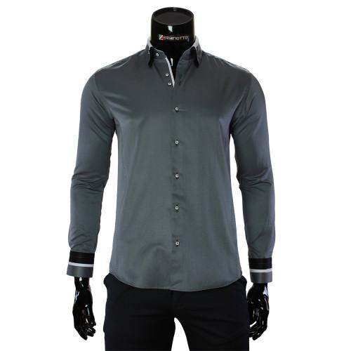 Satin Cotton Plain Shirt MM 1960-12