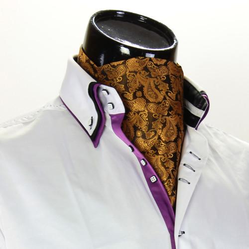 Мужской шейный платок аскот CH 9080-1
