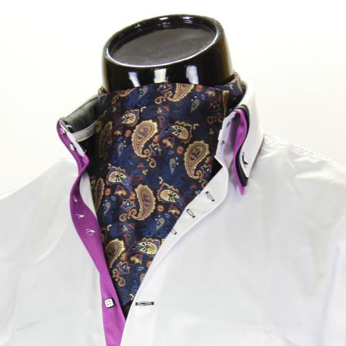Чоловіча краватка Аскот на шию CH 9080-2